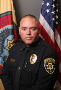 Cherokee Chief of Police Ben Reed (CIPD photo)