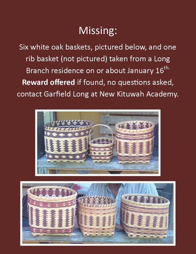 Gar's missing basket flyer jpg