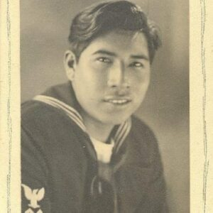 Jerry Wolfe served in the U.S. Navy during World War II.  (Photo courtesy of Wolfe Family)