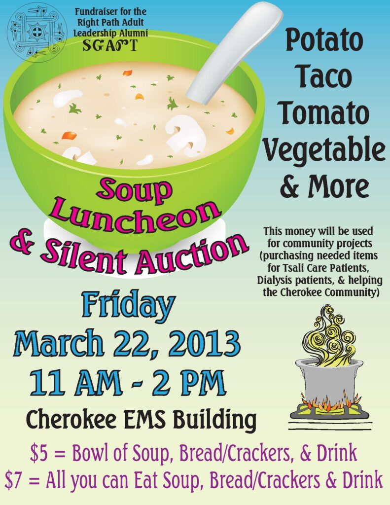 Soup Lunch Flyer