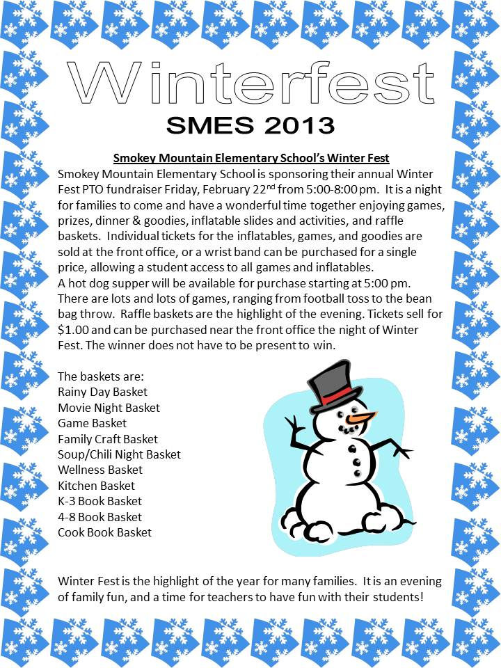 Winterfest Flyer