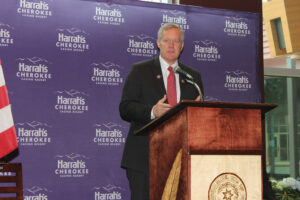 Congressman Mark Meadows (R-NC) attended Friday's event and congratulated the casino and Tribe on the expansion.