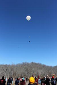 The balloon soars!