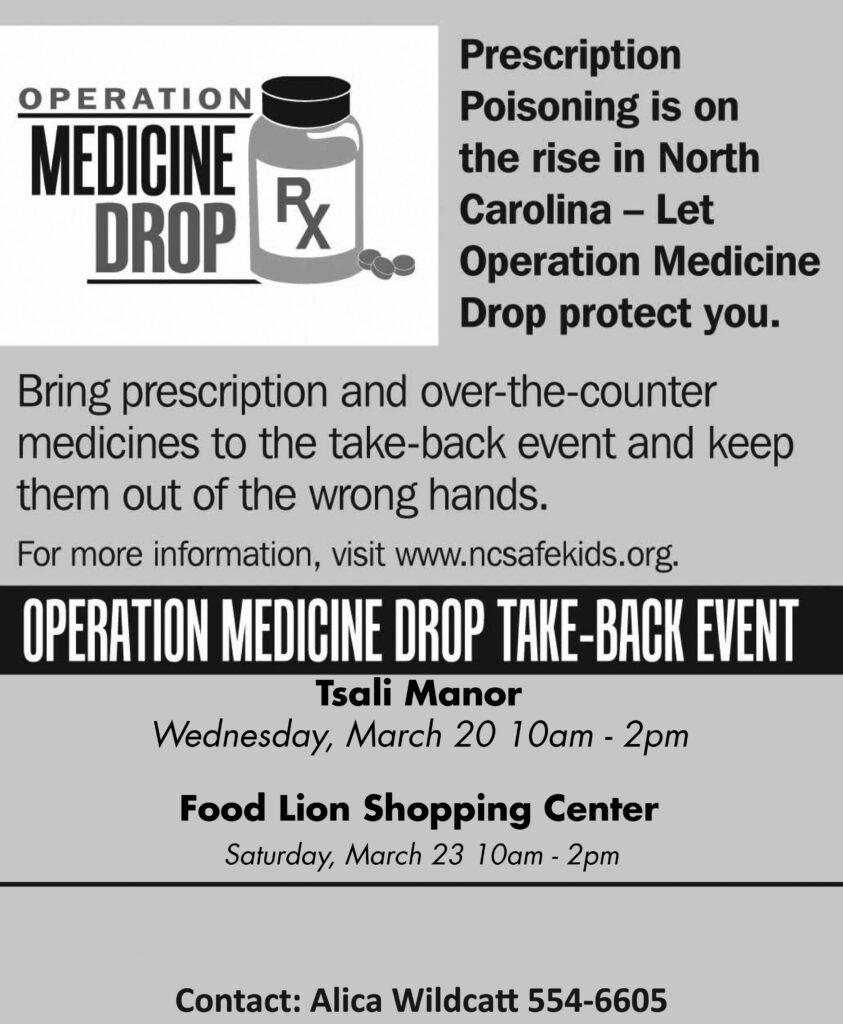 Operation Medicine Drop full page ad