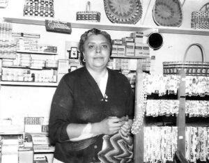 Melita Sneed, ca. 1959.  (Photo courtesy of Amanda Bridgeman Lane)
