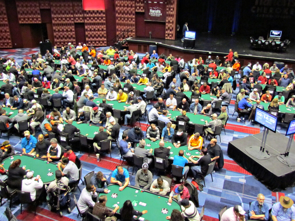 Harrah's Cherokee Casino Resort is playing host to several World Series of Poker events from April 4-15.  (Harrah's Cherokee photos)