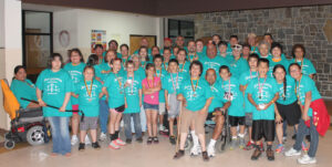 The Old Antioch Baptist Church had the largest group at Saturday's 5K event.