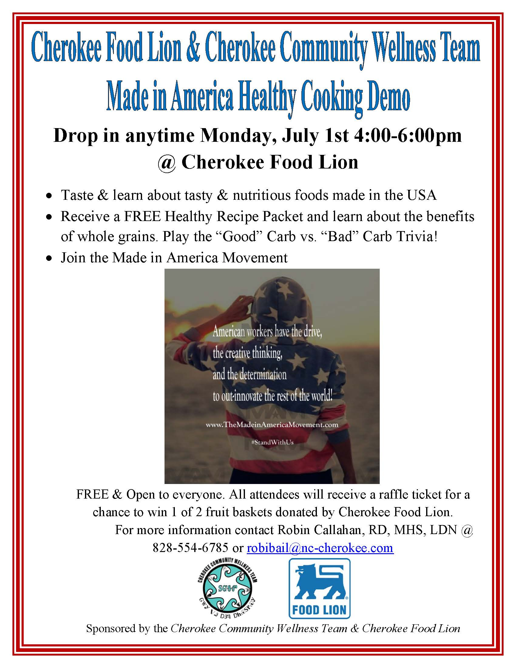 Foodlion Made in USA June 2013