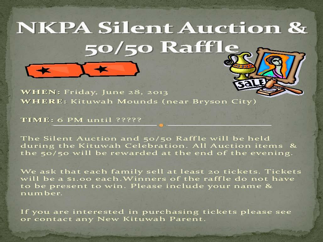 NKPA Silent Auction  50Public