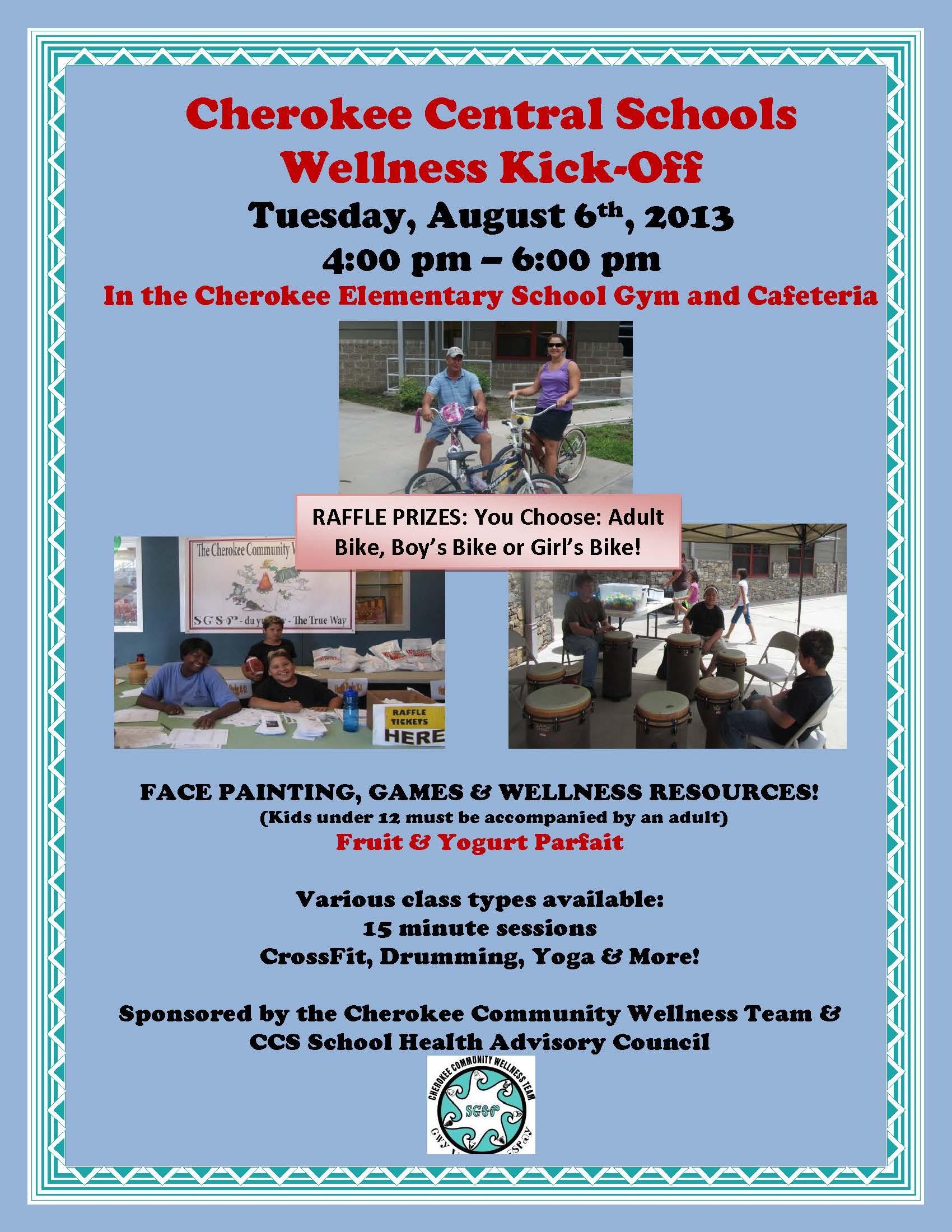 CCS Wellness Kick-off flyer 2013
