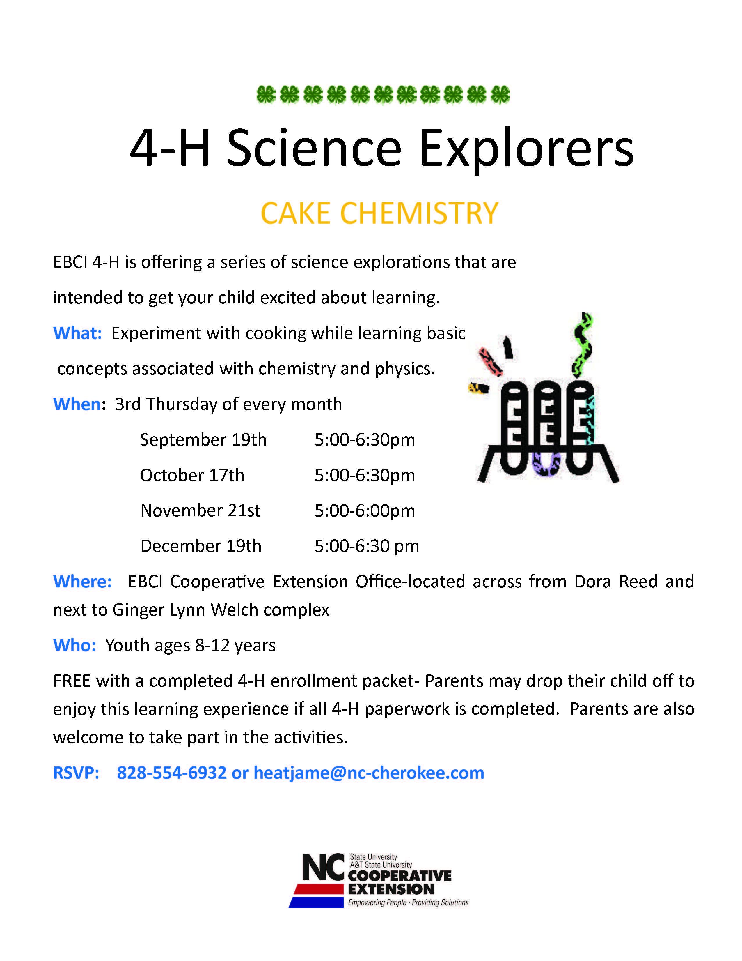 4-H Science Explorers