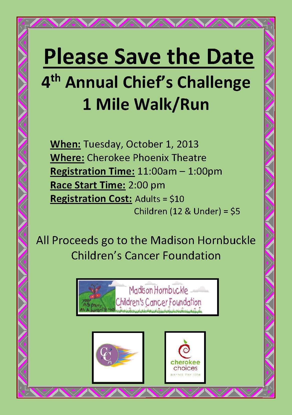 Save the Date Flyer_Chief's Challenge