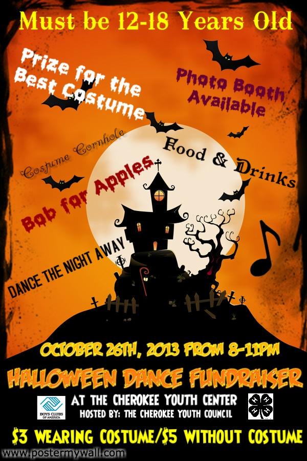 Halloween Dance Flyer