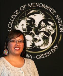 Nakoa Chiltoskie, from Cherokee, is the recipient of an Adolf Van Pelt Scholarship in the amount of $1500.  (Photo courtesy of CMN by D.Kakkak)