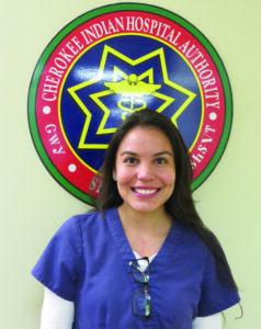 Kristina Hyatt, an EBCI tribal member, is one of the 2013 Cherokee Indian Hospital Scholarship winners. (CIHA photo)