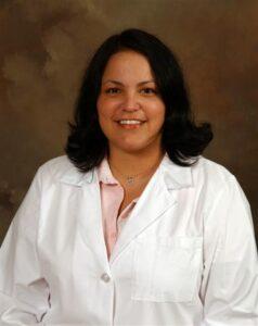Dr. Blythe Winchester, an EBCI tribal member at the Cherokee Indian Hospital, has passed her Geriatric Medicine Examination.  (CIHA photo)