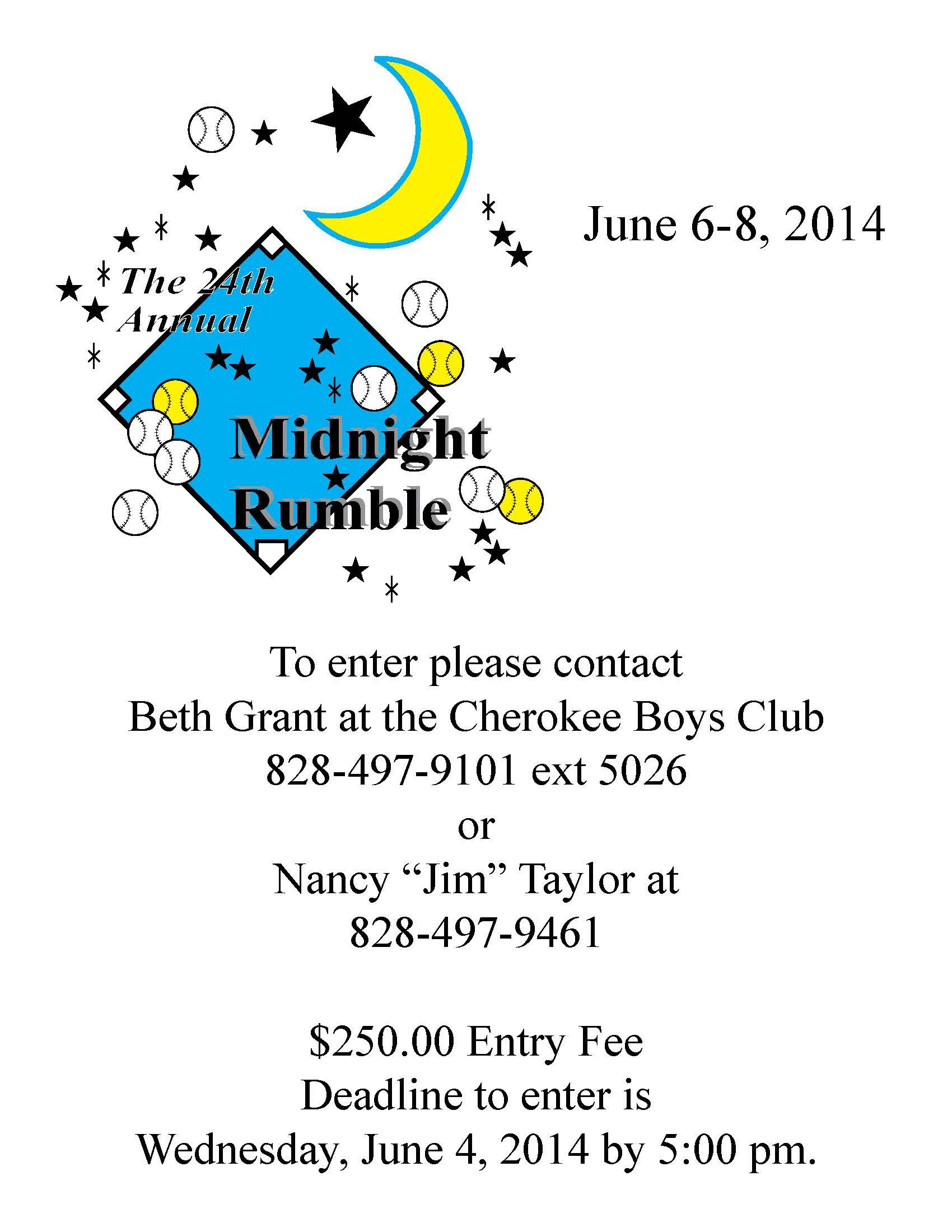 Midnight Rumble Flyer