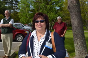 Chairperson Terri Henry, shown at Monday's opening ceremony, will be honored by USET on Monday night.