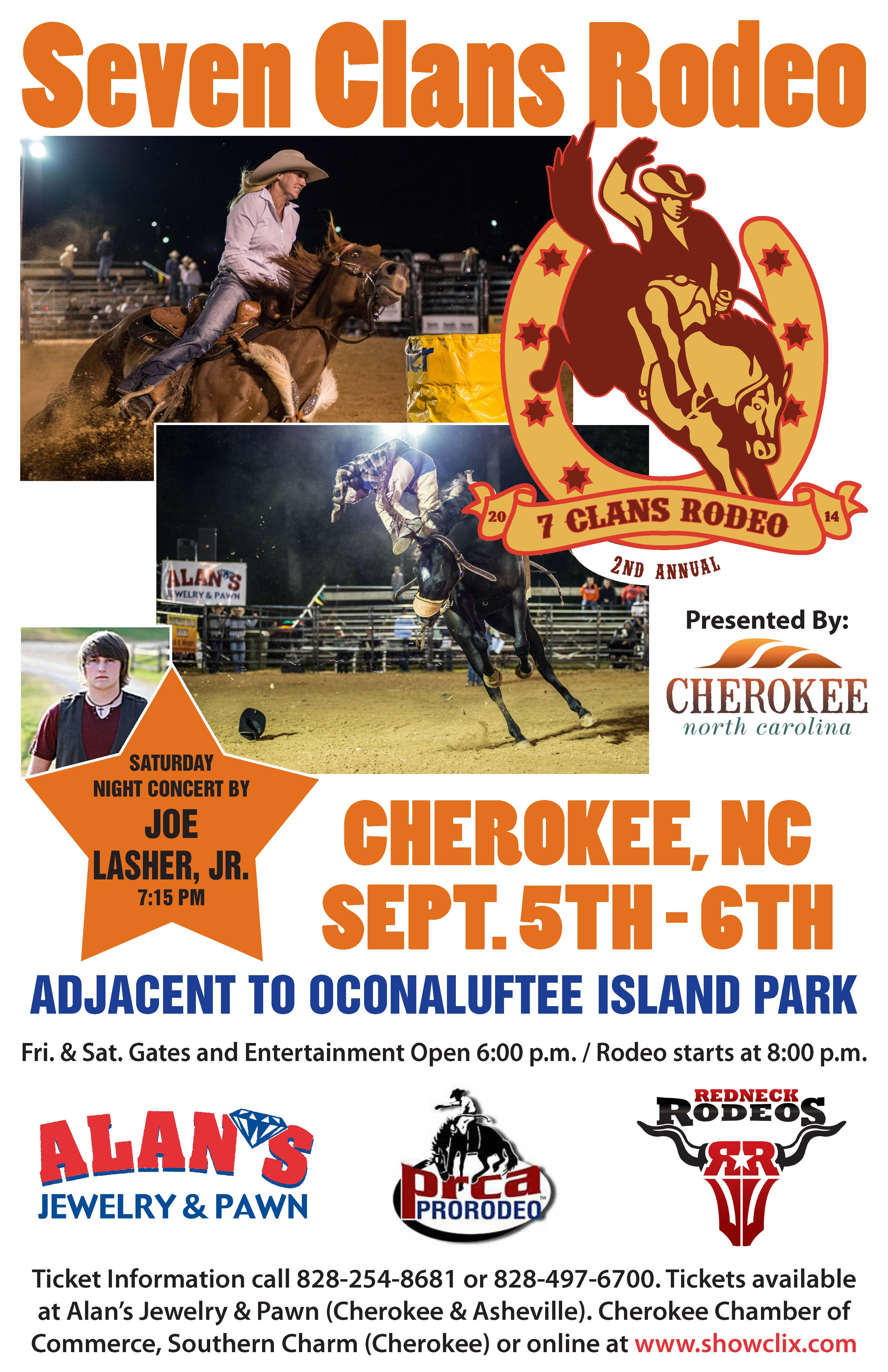 7ClansRodeoPoster