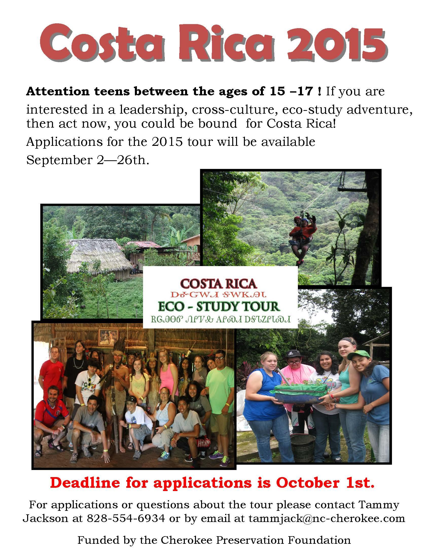 Costa Rica flyer 2015