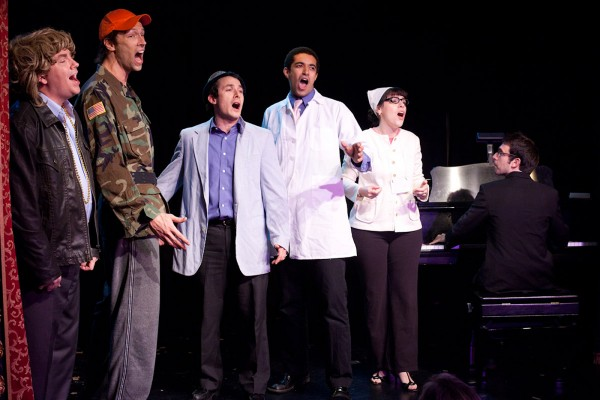 """The cast of """"Broadway's Next Hit Musical"""" is headed to Western Carolina University for a night of song and improvisational comedy Friday, Oct. 24. (Photo by James Shubinski)"""