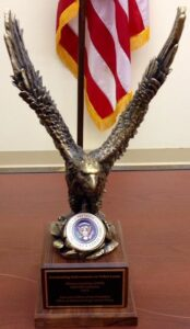 The Atlanta-Carolinas HIDTA nominated the Asheville Initiative for the Outstanding Enforcement on Tribal Lands Award for the period of September 2012 through Oct. 1, 2013.  (CIPD photo)