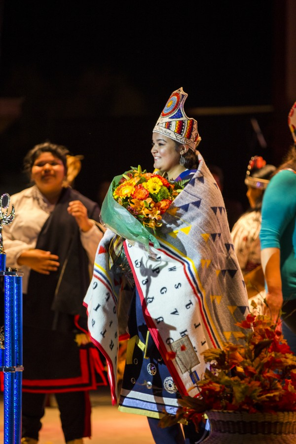 Madison Hye Long was crowned Teen Miss Cherokee 2014 on Friday, Oct. 10.  (Photo by Kristey M. Herron/EBCI Commerce)
