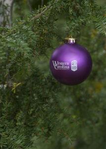 WCU ornament 125 anniversary