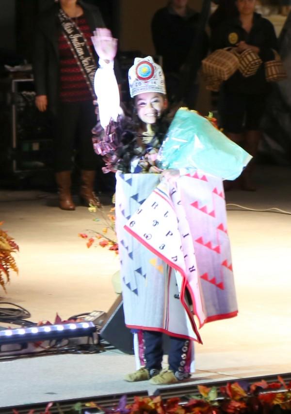 Jade Ledford was named Junior Miss Cherokee 2014 on Thursday, Oct. 9.  (Photo by Kristy M. Herron/EBCI Commerce)