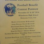 Football Benefit Contest PW flyer