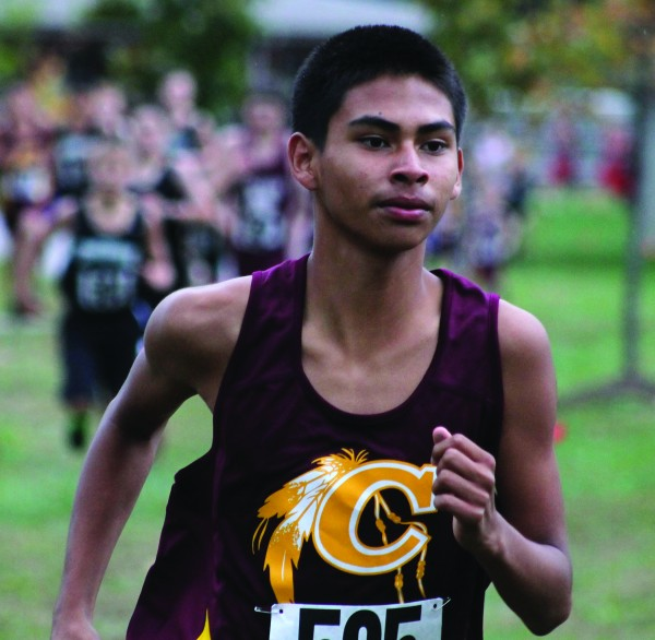 Darius Lambert, a member of the Cherokee Middle School cross country team, has qualified to compete in the USATF National Junior Olympic Cross Country Championships scheduled for Saturday, Dec. 13.  (SCOTT MCKIE B.P./One Feather)