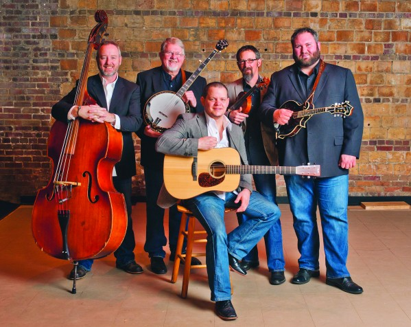 The award-winning bluegrass group Balsam Range is set to play the Cherokee Lights & Legends Christmas event at the Cherokee Indian Fairgrounds on Saturday, Dec. 13 at 8pm.  They are shown (left-right) Tim Surrett, Marc Pruett, Caleb Smith, Buddy Melton and Darren Nicholson.   (Photo courtesy of Balsam Range)