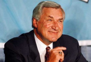 The basketball world lost a great on Saturday, Feb. 7 as Dean Smith, longtime coach of the UNC Tarheels passed away at the age of 83.  (UNC photo)