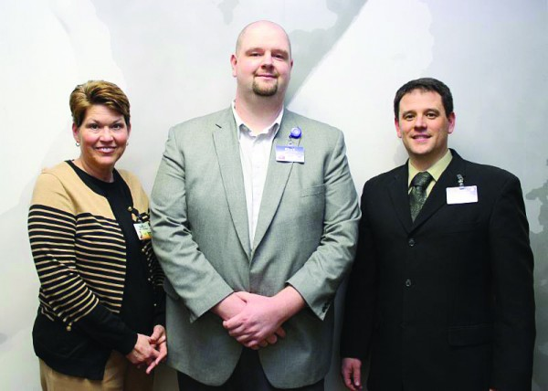 Harrah's Cherokee Valley River Casino & Hotel has announced part of its leadership team for the new property set to open this fall including (left-right) HR Manager Nancy Rosenbury, Marketing Operations Manager Billy Roland, and Director of Casino Operations Joshua Vaught.  (Harrah's Cherokee photo)