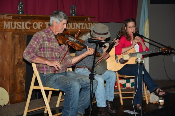 Musicians play at a past Music of the Mountains Festival.  (NPS photo)