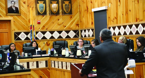 On May 4 and 5, the Junaluska Leadership Council held a candidate forum for the EBCI Tribal Council Wolftown Community candidates.   (ROBERT JUMPER/One Feather)