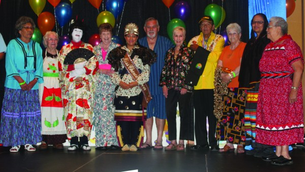 Miss Cherokee Taylor Wilnoty (center) is shown at the annual Senior Celebration held on May 24.  (Photo courtesy of Taylor Wilnoty)
