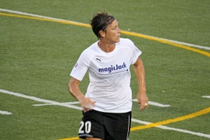 Abby Wambach, U.S. Women's Soccer team.  (Photo courtesy of Flickr Common)