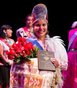 Kristina Hyatt, an EBCI tribal member, was crowned Miss Native American USA on Saturday, Aug. 8 in a pageant in Tempe, Ariz.  (Photography by Roshan - www.roshanspottsville.com)