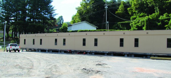 In a few weeks, the Analenisgi Program will move to a modular unit at the old Mountain Federal Credit Union site behind the BIA Cherokee Agency and will re-open as the Analenisgi Recovery Center.  (SCOTT MCKIE B.P./One Feather)