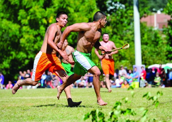 Cherokee stickball demonstrations is just one of the many events occurring at the annual WCU Mountain Heritage Day on Saturday, Sept. 26.  (WCU photo)