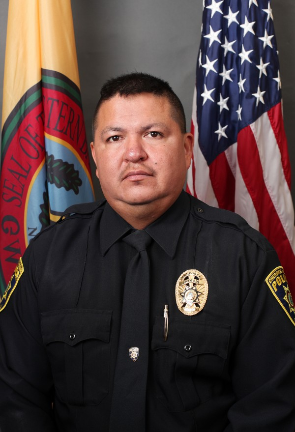 """Cherokee Indian Police Department Patrol Officer Anthony """"Tony"""" Lossiah died at Mission Hospital, in Asheville, on Tuesday, Oct. 6. (CIPD photo)"""