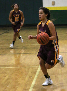 LeLe Lossiah, Lady Braves senior guard, has been selected to the West vs Midwest All-Star roster.