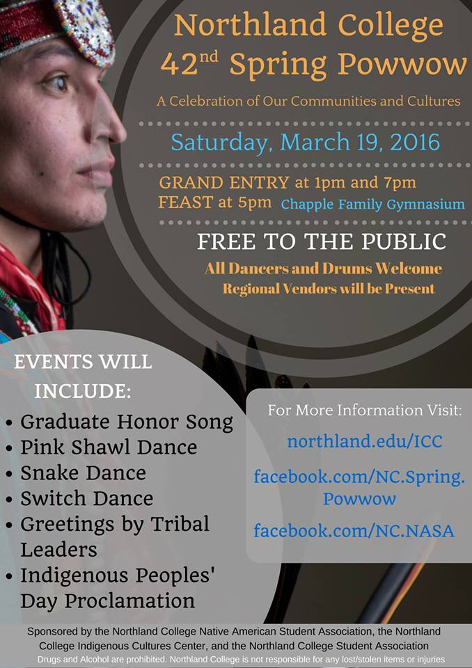 Northland-College-Pow-Wow-Maarch-2016