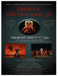 Lion King Jr playbill