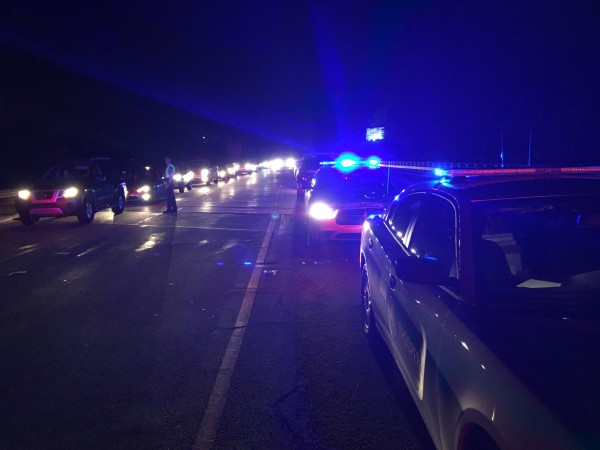 A DWI checkpoint in Cherokee on Saturday, May 14 netted multiple offenders.  (CIPD photos)