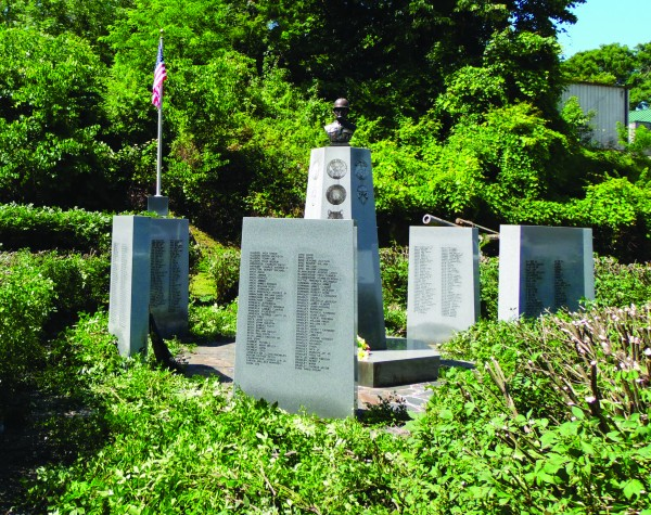 Plans are underway for a complete facelift of the Cherokee Veterans Memorial Park. (ROBERT JUMPER/One Feather)