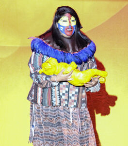 """Ella Montelongo, shown in the part of Rafiki in Cherokee Musical Theatre's May production of """"The Lion King Jr."""", is set to perform a song and scene from """"Wicked"""" as part of the upcoming Nov. 10 """"Short Attention Span Theater"""".  (SCOTT MCKIE B.P./One Feather)"""