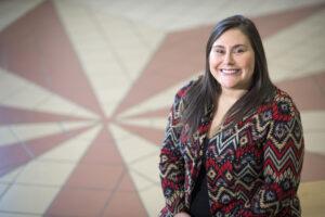 Western Carolina University alumna Sky K. Sampson, manager of the Cherokee Boys Club Youth Council programs, has been named director of the university's Cherokee Center. (WCU photo)