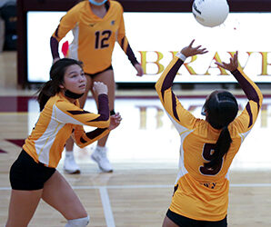 VOLLEYBALL: Lady Braves seeing success through positive attitudes